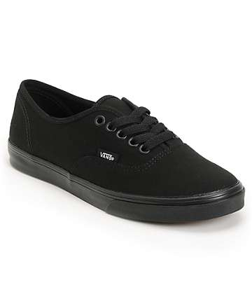 Vans Authentic Lo Pro All Black Shoes