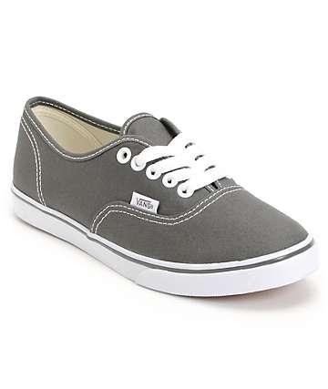 Vans Authentic Lo Pro Pewter Shoes