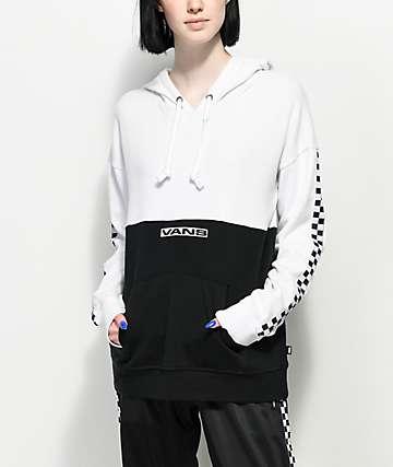 Vans Block Black & White Checker Hoodie