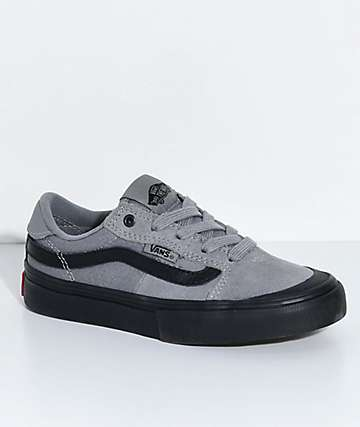 Vans Boys 112 Gunmetal & Black Skate Shoes