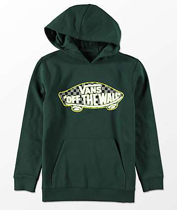 Vans Boys Off The Wall Checker & Scarab Hoodie
