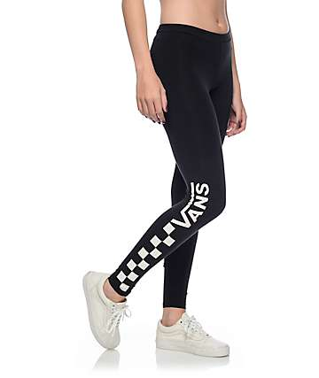 Vans Chalkboard Black Leggings