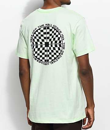 Vans Checkered Green T-Shirt