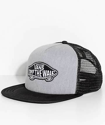 Vans Classic Patch Heather Grey Trucker Hat