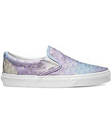 Vans Classic Rain Geo Slip-On Shoes