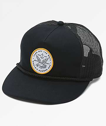 Vans Fremont Black Trucker Hat