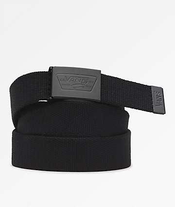 Vans Full Patch Black Web Belt