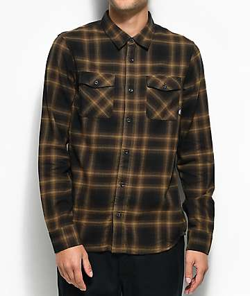 Vans Monterey II Brown Flannel Shirt