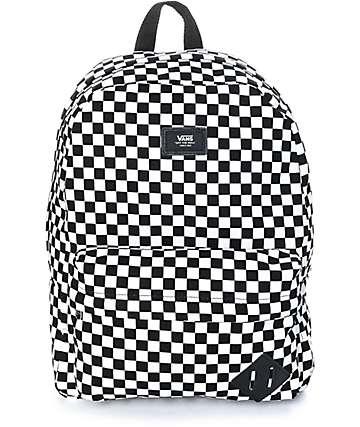 Vans Old Skool II Black & White Checker Backpack