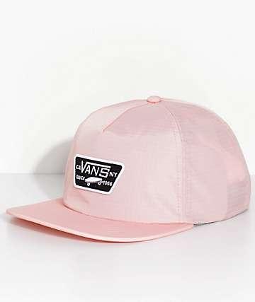 Vans Rebel Riders Pink Strapback Hat