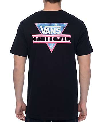 Vans Retro Tri Black T-Shirt