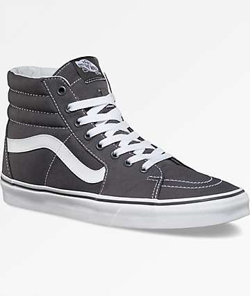 Vans Sk8-Hi Canvas Grey Shoes
