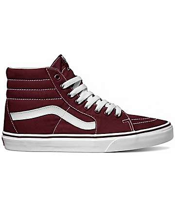 Vans Sk8-Hi Canvas Port Royale Shoes