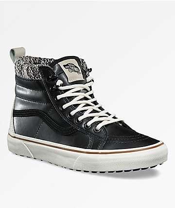 Vans Sk8-Hi MTE Black & Marshmallow Shoes