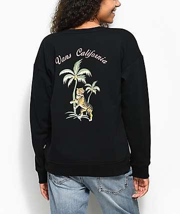 Vans Souvenir Black Crew Neck Sweatshirt