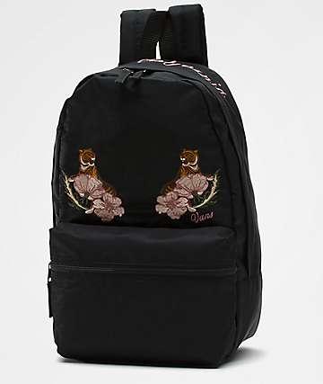 Vans Souvenir Satin Embroidery Black 16.5L Backpack