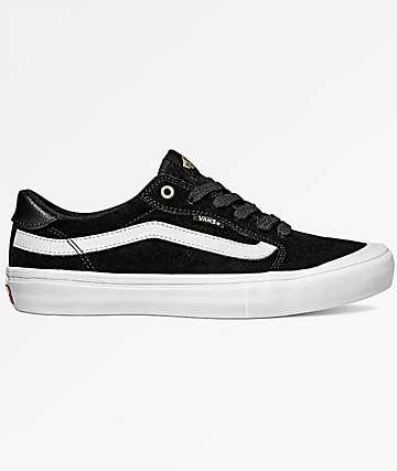 Vans Style 112 Pro Black & White Shoes