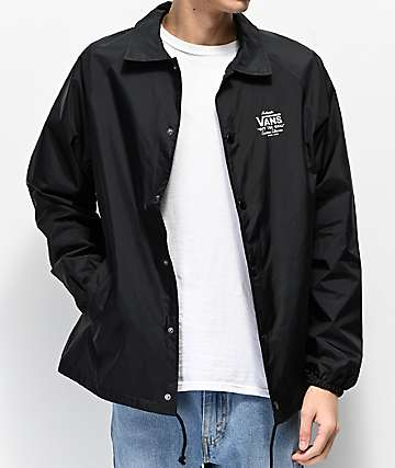Vans Torrey Black Coaches Jacket