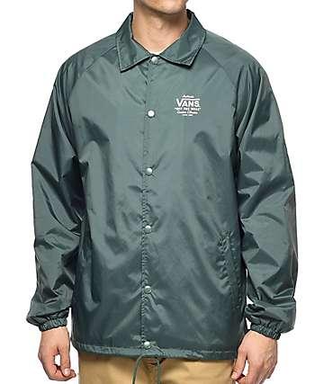 Vans Torrey Dark Green Coaches Jacket