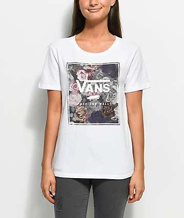 Vans Velvet Box White T-Shirt
