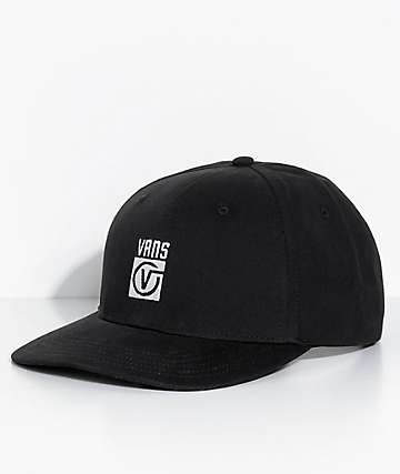 Vans Worldwide Jockey Black Snapback Hat