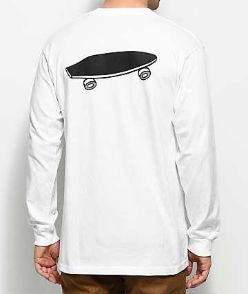 Vans X Spitfire Long Sleeve White T-Shirt