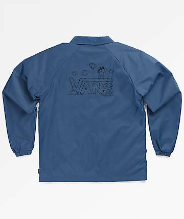 Vans x Peanuts Boys Torrey Navy Coaches Jacket