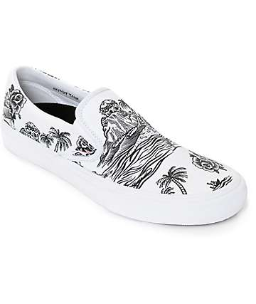 Vans x Sketchy Tank Slip-On Pro Skate Shoes