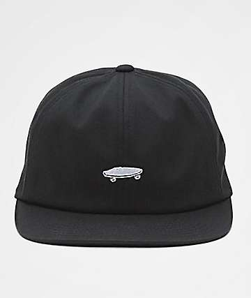 Vans x Thrasher Jockey 6 Panel Black Strapback Hat