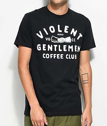Violent Gentlemen Coffee Club Black T-Shirt