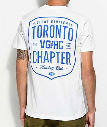 Violent Gentlemen Toronto Chapter White T-Shirt