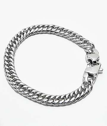 Vitaly Altered Cuban Link Steel Bracelet