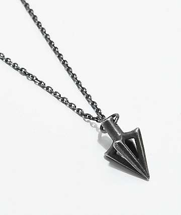 Vitaly Arcus X Antique Steel Necklace