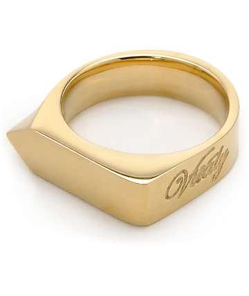 Vitaly Odak X Gold Ring