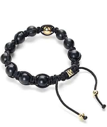 Vitaly Orbis X Black & Gold Bracelet