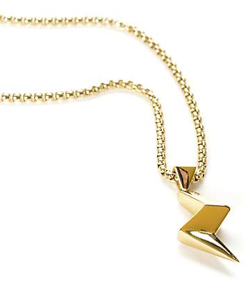 Vitaly Strejk X Gold Necklace