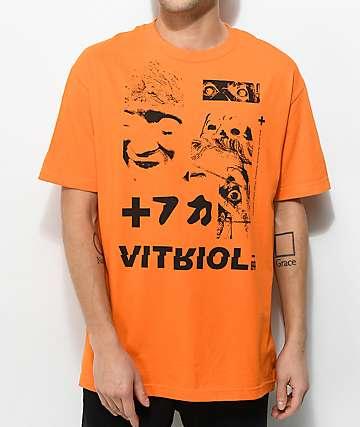 Vitriol Brainwashed Orange T-Shirt