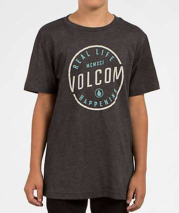 Volcom Boys On Lock Indigo T-Shirt