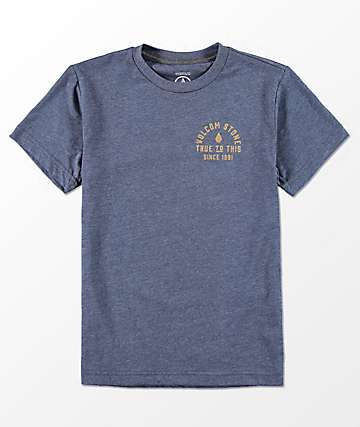 Volcom Boys Stone Co. Indigo T-Shirt