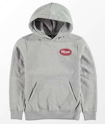Volcom Boys Supply Stone Grey Hoodie
