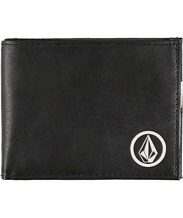 Volcom Corps Black Bifold Wallet