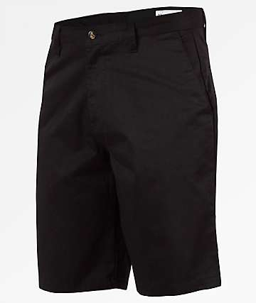 Volcom Frickin Chino Black Shorts