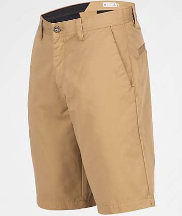 Volcom Frickin Chino Dark Khaki Shorts