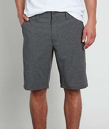 Volcom Frickin Surf N Turf Static Charcoal Hybrid Shorts