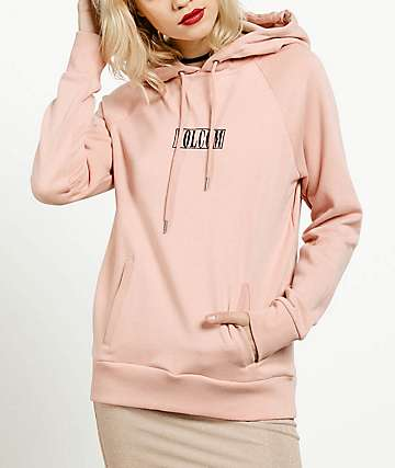 Volcom Getting Shacked Mellow Rose Hoodie