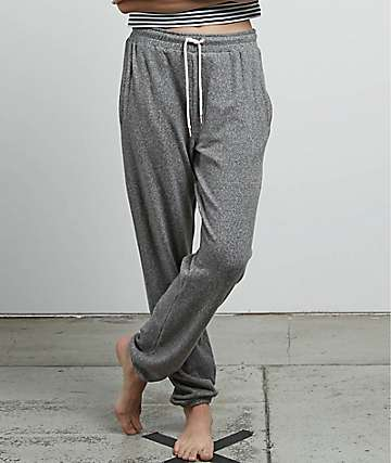 Volcom Lil Fleece Charcoal Sweatpants