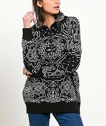 Volcom Petal Metal Black Sweater