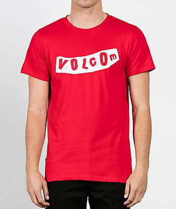 Volcom Pistol Red T-Shirt