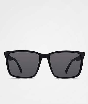 Von Zipper Lesmore Black Satin & Grey Sunglasses