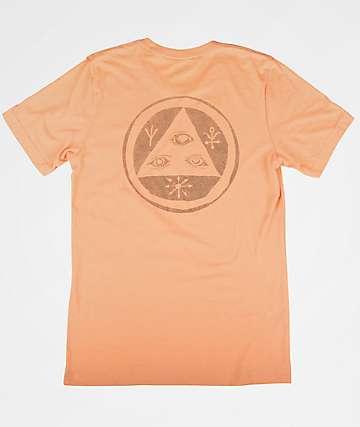 Welcome Talisman Halftone Peach T-Shirt